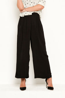 Vintage by Fé - Jindira Trousers Black