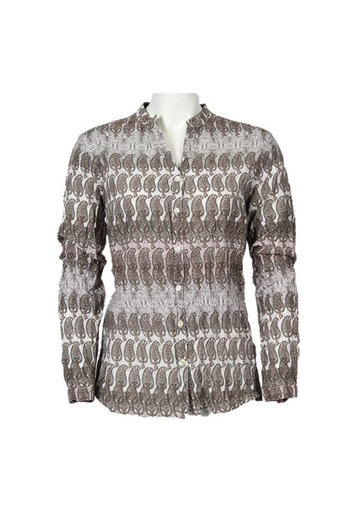 Isay - Jona Printed Shirt Powder Paisley