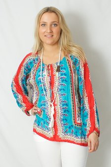 Johnny Was - Talasi Silk Blouse