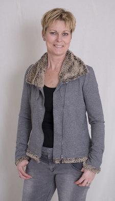Sandwich - Cardigan Grey Fur