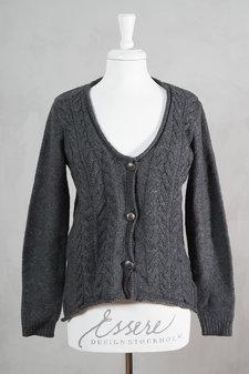 Pulz - Aurora Cardigan Grey Melange