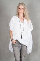 my Sunday Morning - Amore Blouse White