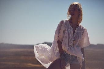 my Sunday Morning - Amore Blouse White