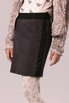 Cream - Haise Skirt Bluish Black