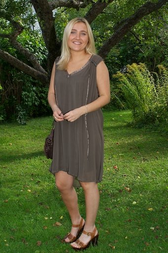Culture - Sannie Dress Nature Brown