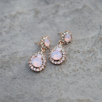 Lily and Rose - Earring Sofia Rose Opal