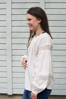 my Sunday Morning - Totem Blouse Off White