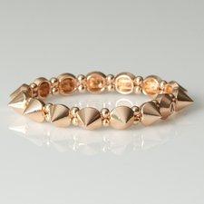 VÅGA - Bracelet Cone Metal Rose