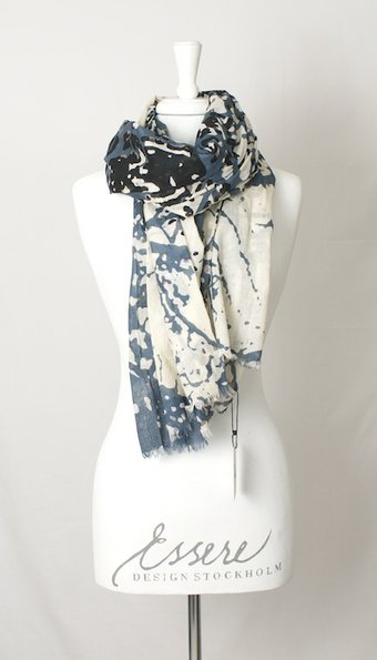 kaffe - Edith Scarf Blue