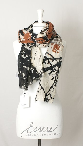kaffe - Edith Scarf Black Deep