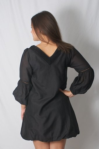 Granath - Dress Onyx Black