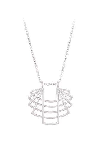 Pernille Corydon - Trace  Necklace Silver
