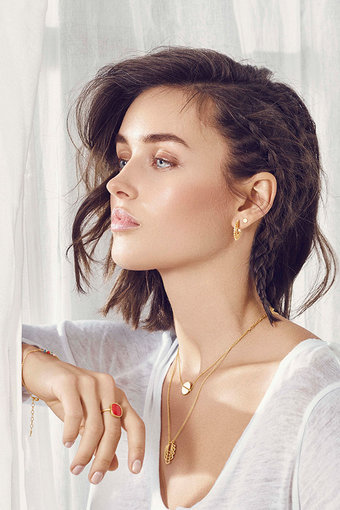 Pernille Corydon - Trace  Necklace  Goldplated Silver
