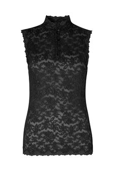 Rosemunde - Top Lace Black
