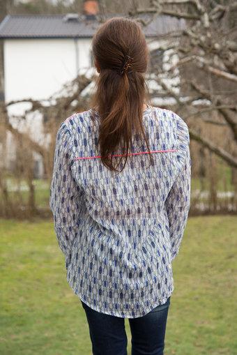 Culture - Kenzie Shirt Blue Combo