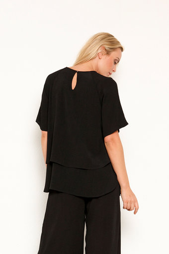 Vintage by Fé - June Top Black