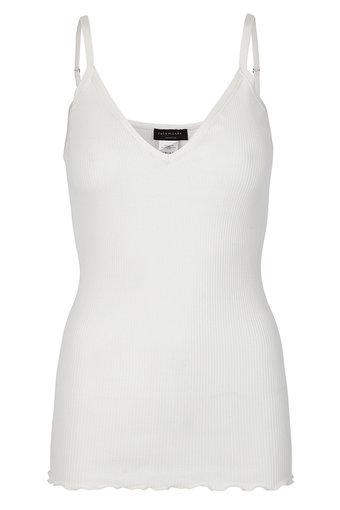 Rosemunde - Silk Strap Top Regular New White