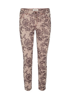 Mos Mosh - Victoria Glam Flower Pant Ash Rose