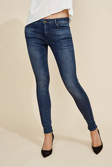Mos Mosh - Jade Cosy Jeans Dark Blue Denim
