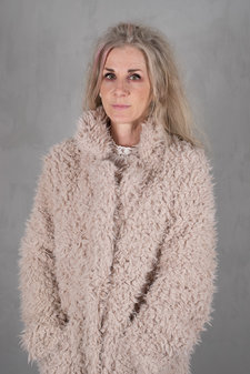 Tina  Wodstrup - Fake Fur Coat Dusty Pink