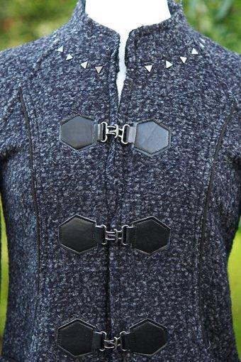 Pulz Jeans - Marti Jacket Dark grey Melange/Silver