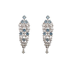 Lily and Rose - Colette Earrings Crystal Blue Shade