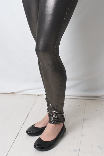 Cream - Connie Leggings Dirty Black