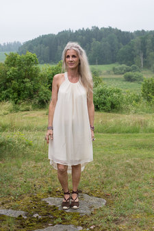 Monrow - Kerri Dress Creme