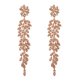 Lily and Rose - Laurel Earrings Light Silk