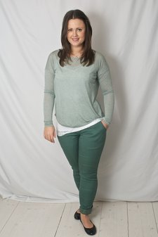 Culture - Holm Pant Malou Fit Dark Forest