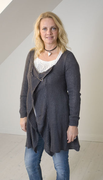 Kaffe - Cardigan Monica Iron Grey