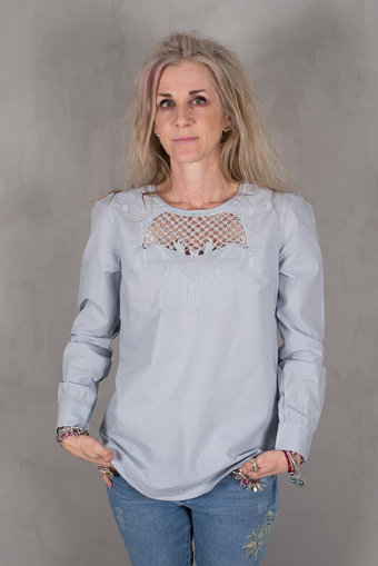 Culture - Mason Blouse Key West Blue