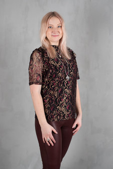 Culture - Christine Blouse Black