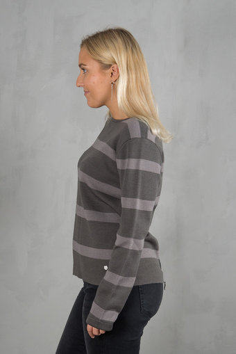 Pulz - Lori Knitted Blouse Magnet / Grey Cave