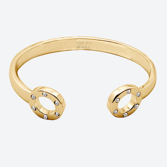 Ioaku - The Heaven Bracelet Gold / White