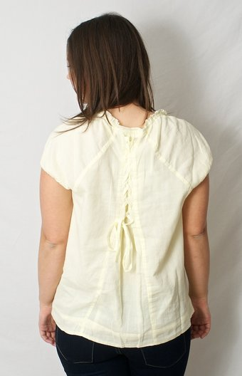 Culture - Norheim Blouse Pastel Yellow