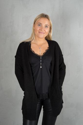 Culture - Zelma Cardigan Black