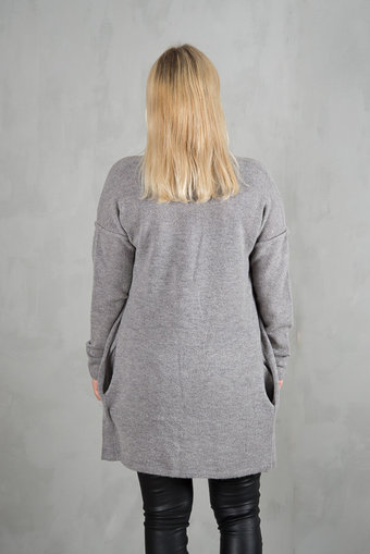 Culture - Zelma Cardigan Grey Melange