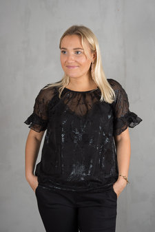 Culture - Jacka Blouse Black