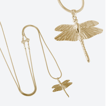 Ioaku - The Dragonfly Mini Gold