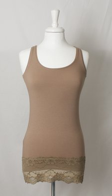 Culture - Tuba Tank Top Taupe