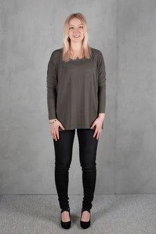 Rosemunde - T-shirt ls Deep Olive