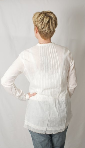 Sandwich - Blus Striped Off-White