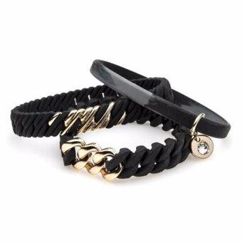 The Rubz - Bracelet Nano Black / Soft gold
