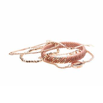 The Rubz - Bracelet Armcandy Alexandria Cameo Rose Gold