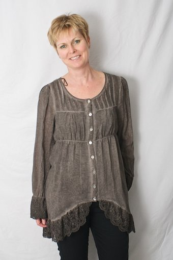 ReMind - Adelana Tunic Pebble Brown