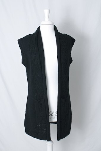 ReMind - Holly Waistcoat Black