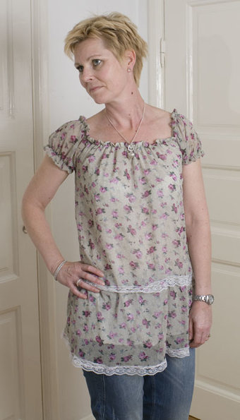 Thilde's Wardrobe - Florette Top Blommig