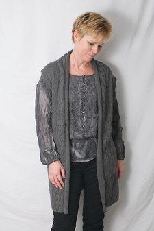 ReMind - Holly Waistcoat Dark Grey