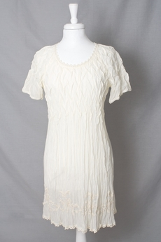 Cream - Maria Tunic Warm Off White